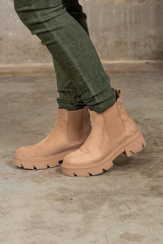 Boots F10 - Camel