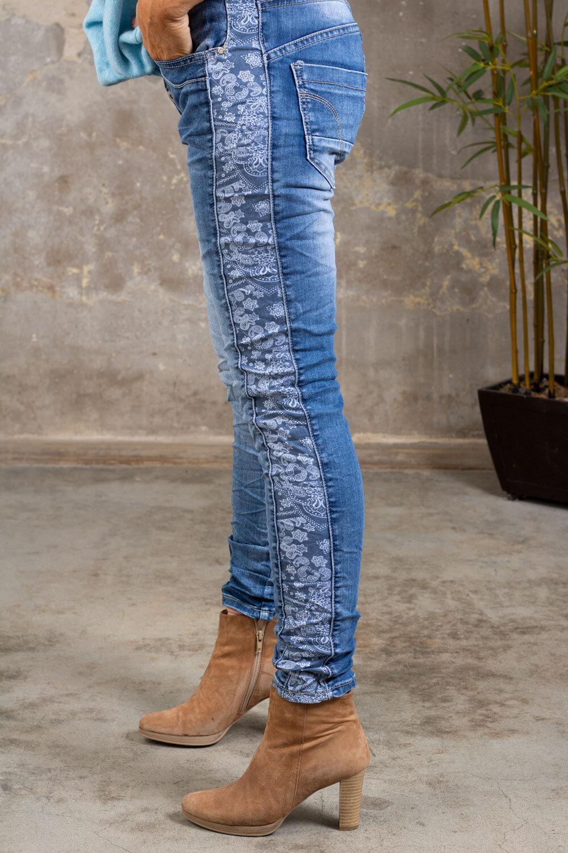 Jeans 98238 - Paisleyrevärer - Denim