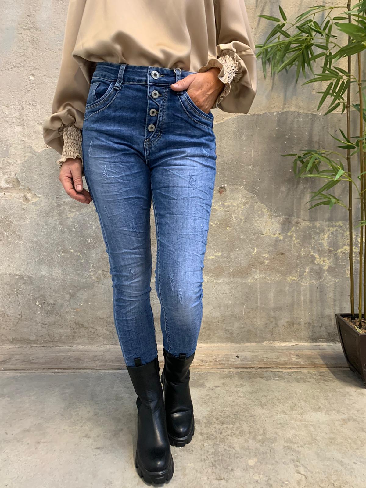 Jeans JW2648 - Denim fram 2