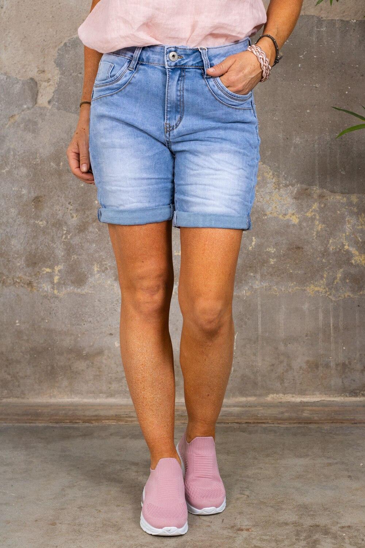 Jeansshorts S26155 - Ljustvätt