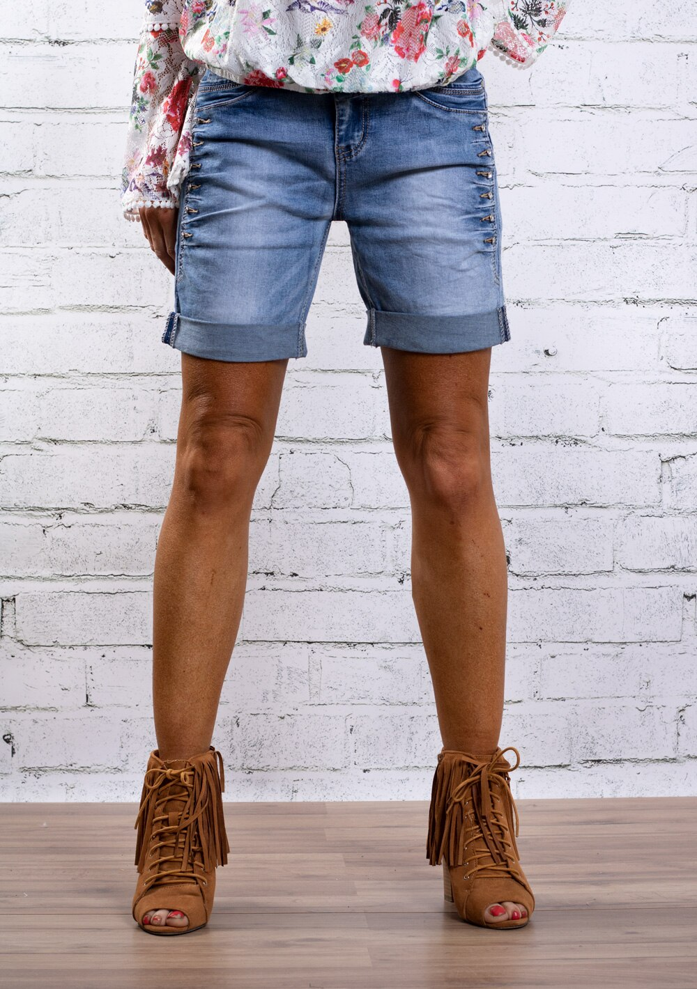 Jeansshorts-S8017---Bling---Denim-fram