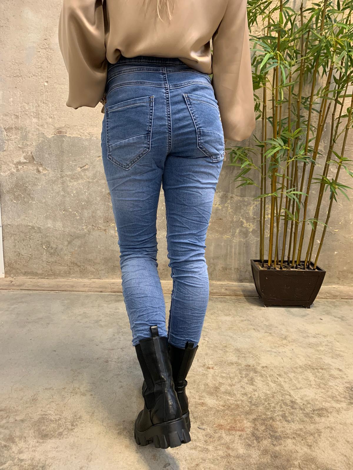Jogging jeans JW2608 - Denim bak