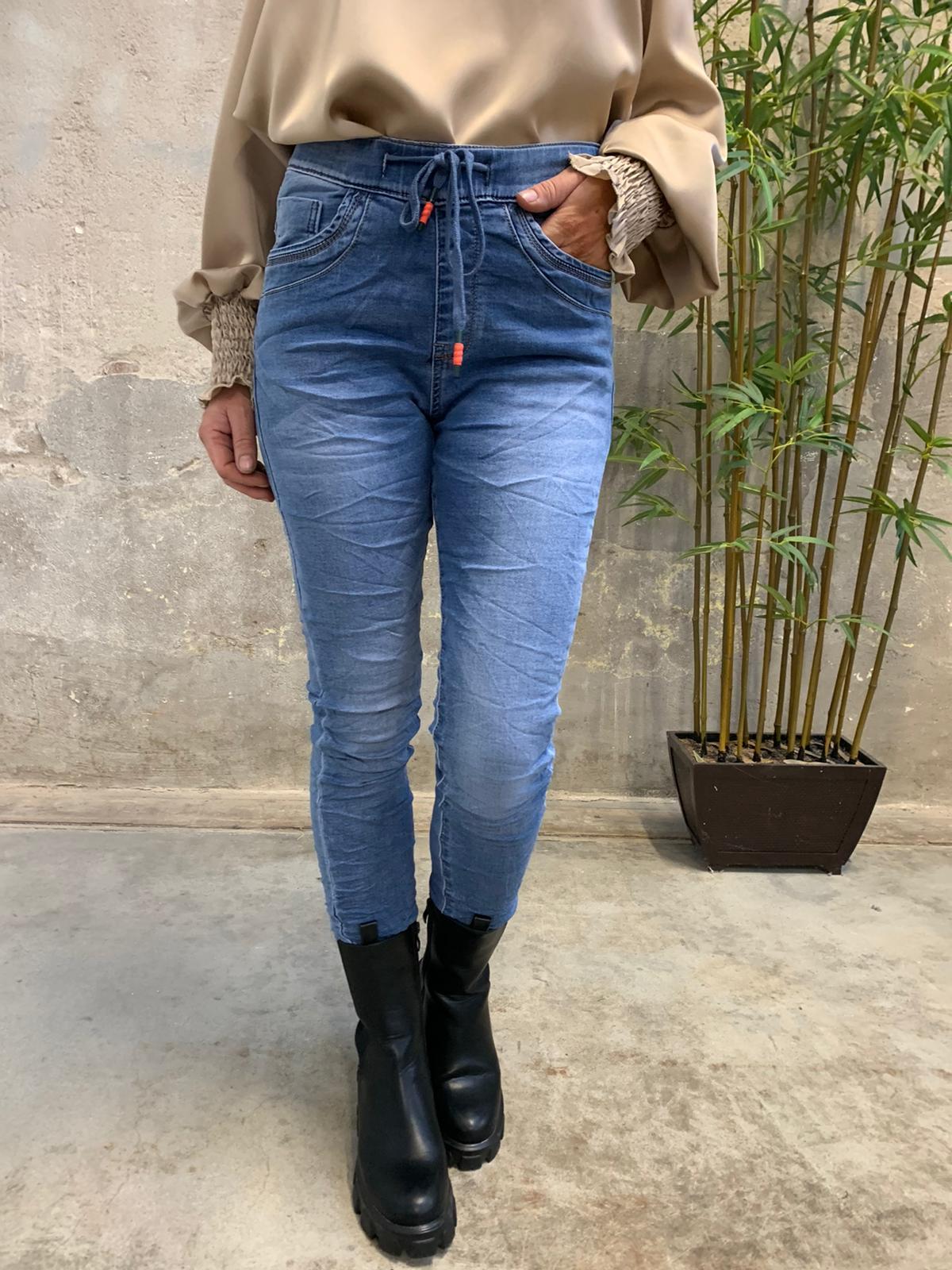 Jogging jeans JW2608 - Denim fram