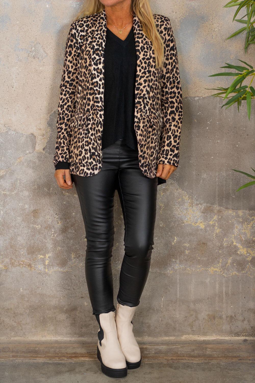 Kavaj - Leopardmönster
