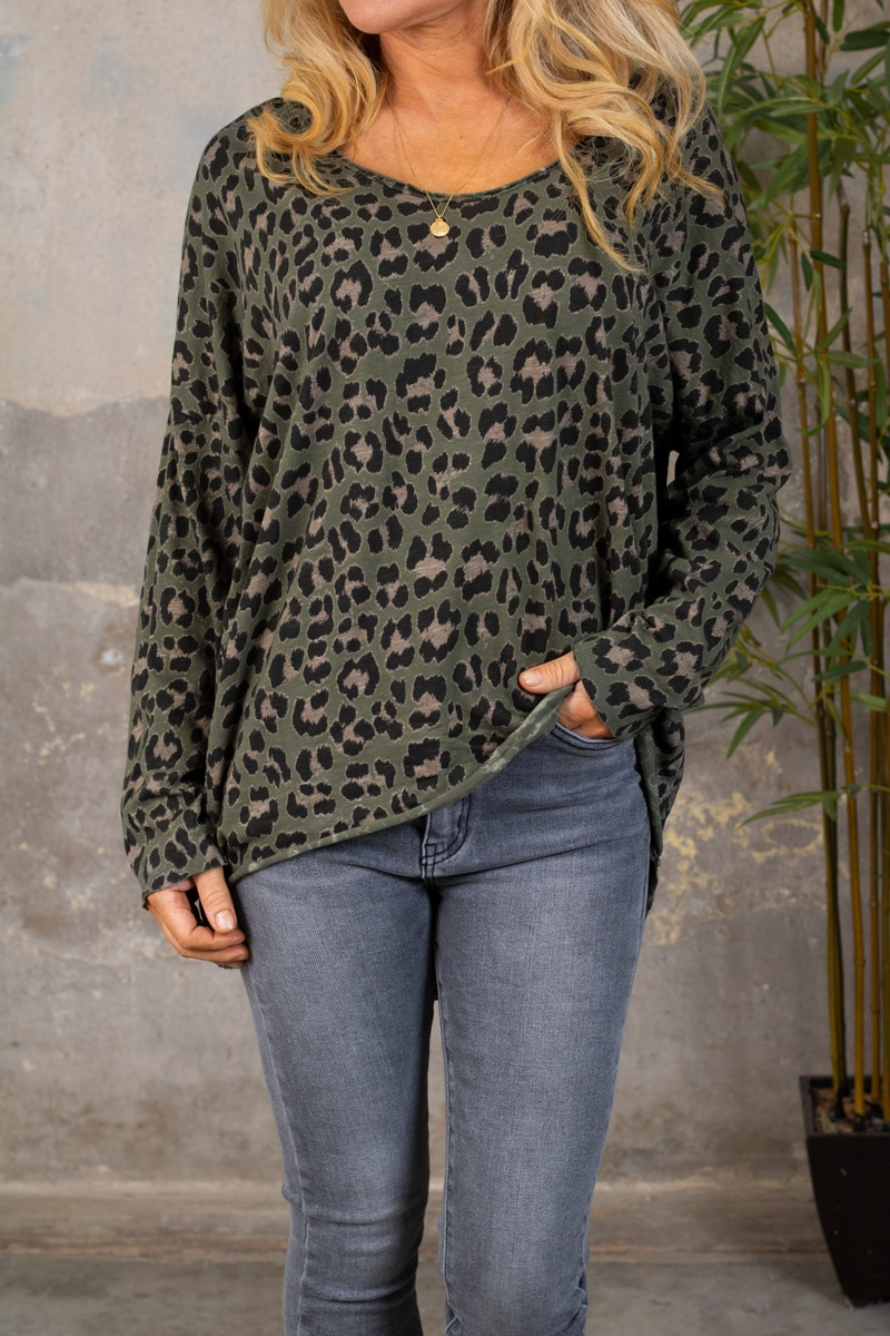 Miriam-troja---Leopardmonster---Khaki-fram