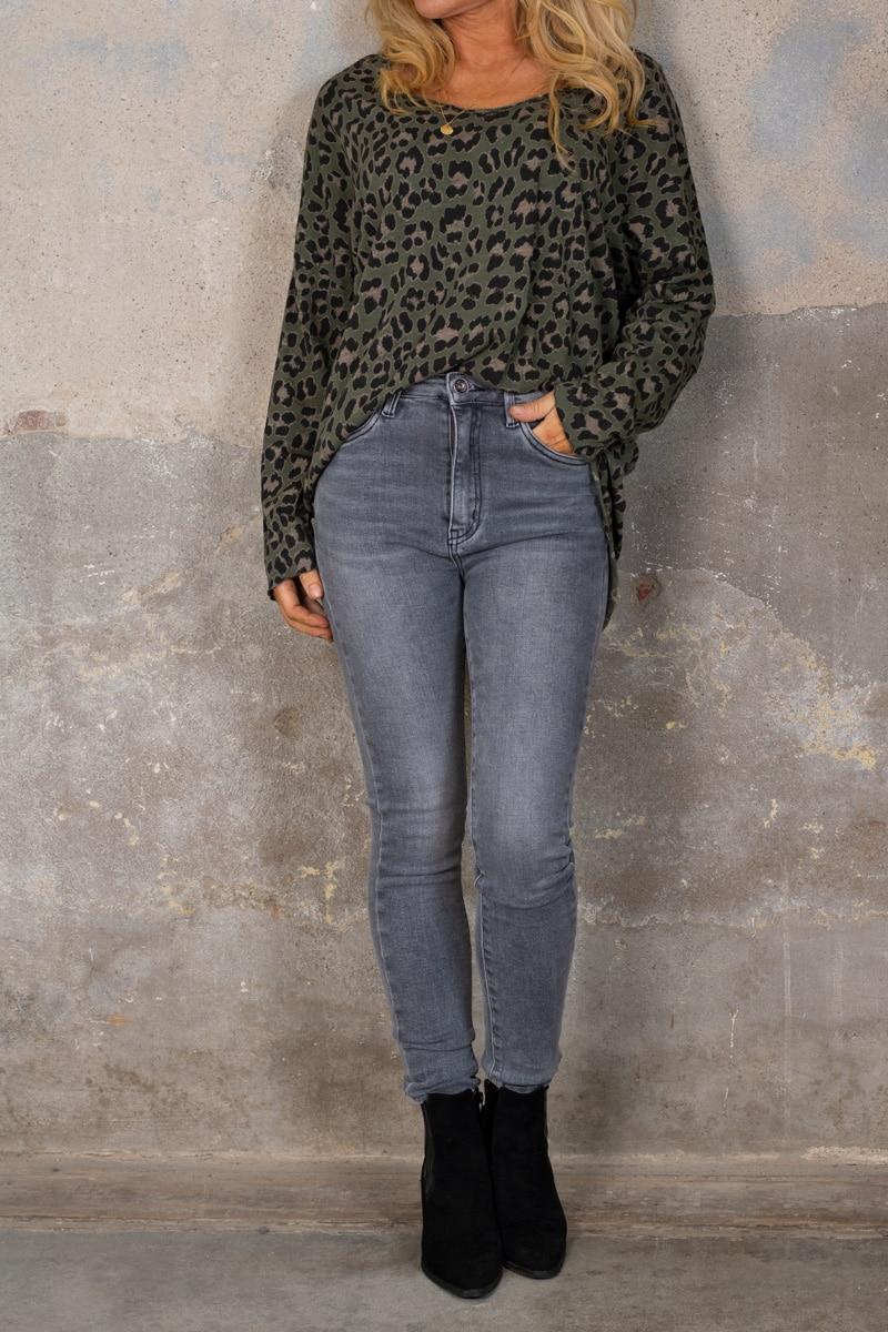 Miriam-troja---Leopardmonster---Khaki-hel