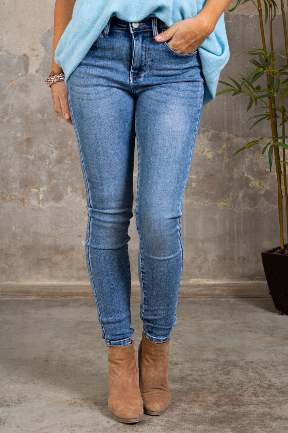Push-up jeans - RD6798 - Denim