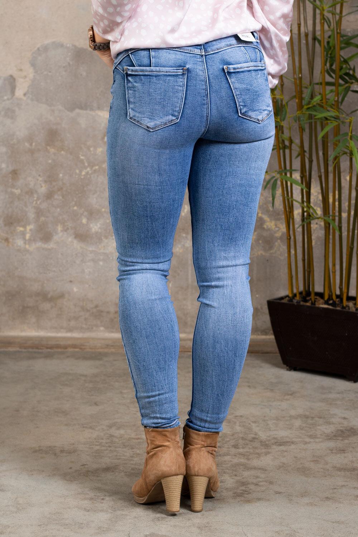 Push-up jeans - RD6800 - Ljustvätt