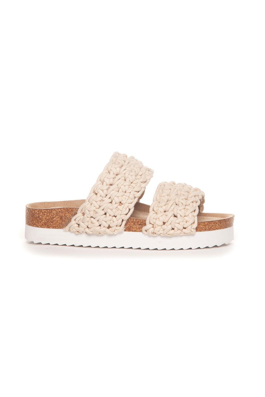 Sandal Flätad - Beige