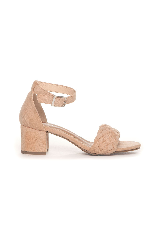 Sandalett Flätad - Nude