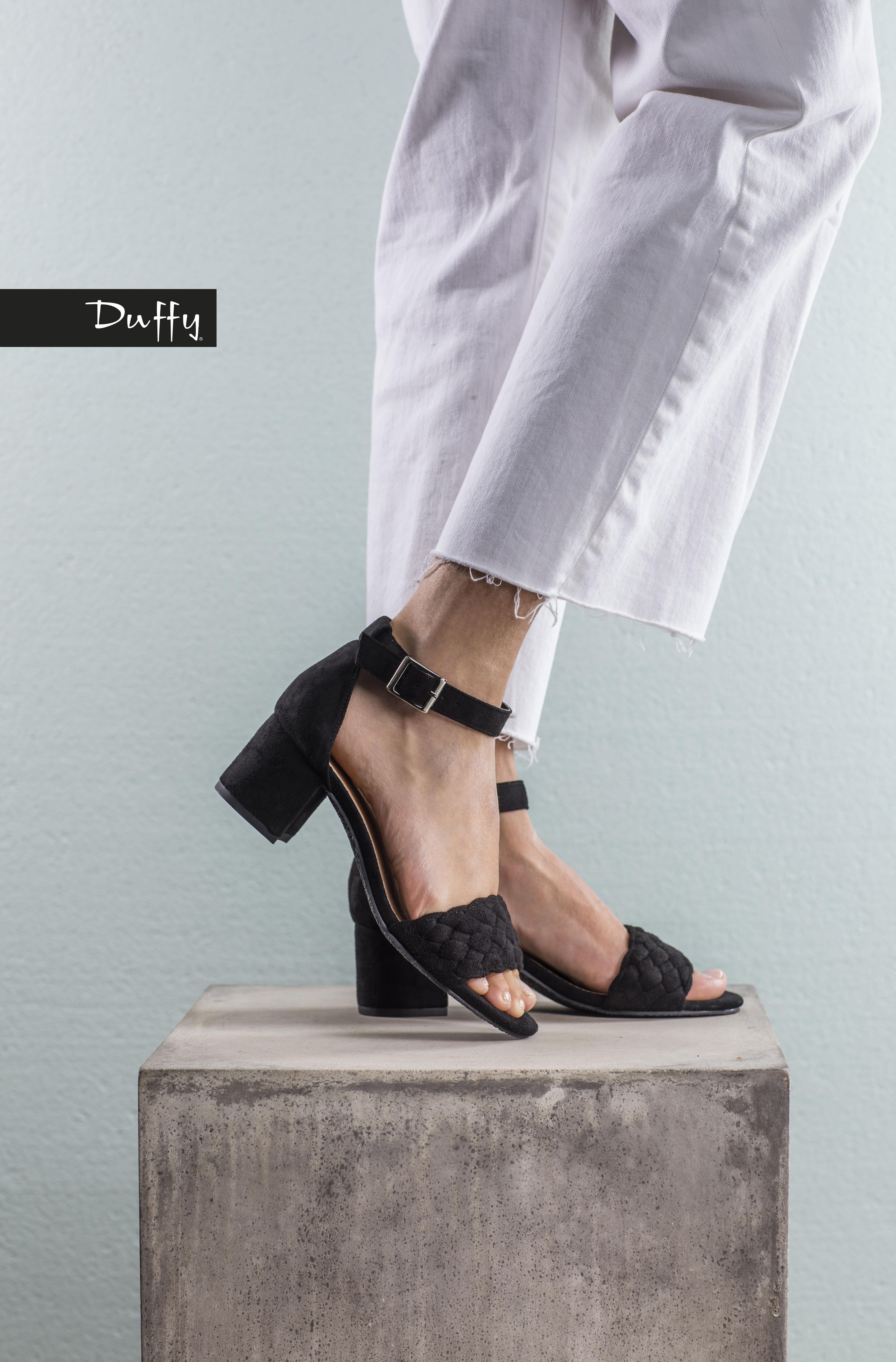 Sandalett Flätad - Svart