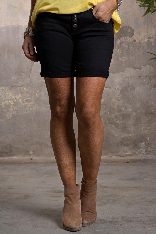Shorts-1220A---Svart-fram