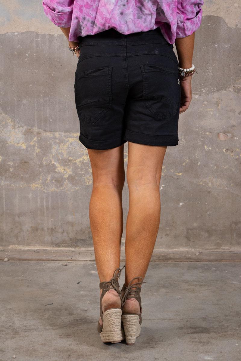 Shorts-med-Dragkejda---S18216---Svart-bak