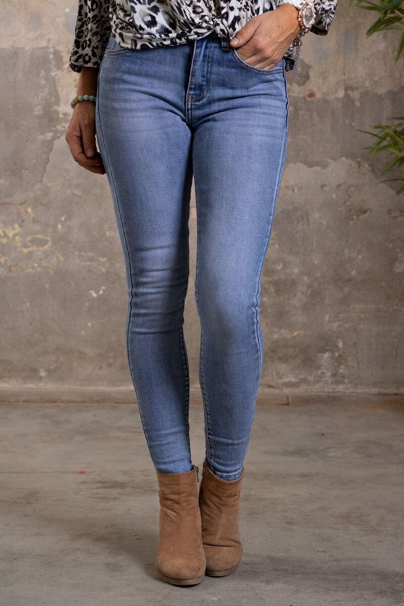 Skinny-Jeans-Ankellangd-RD6663---Brodyrblomma-o-Bling---Ljustvatt-fram