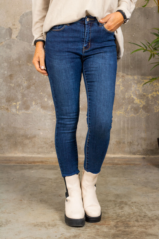 Skinny Push-up Jeans C306 - Denim