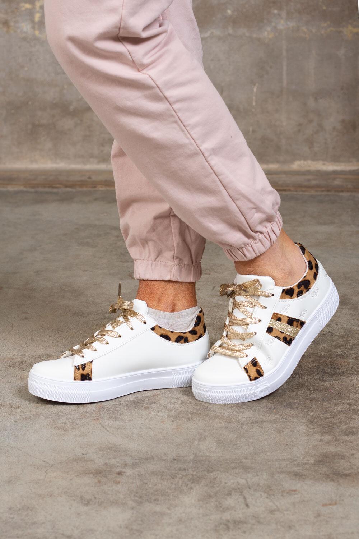 Sneakers 1087 - Leo - Vit