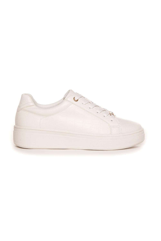 Sneakers Gulddetaljer - Vit