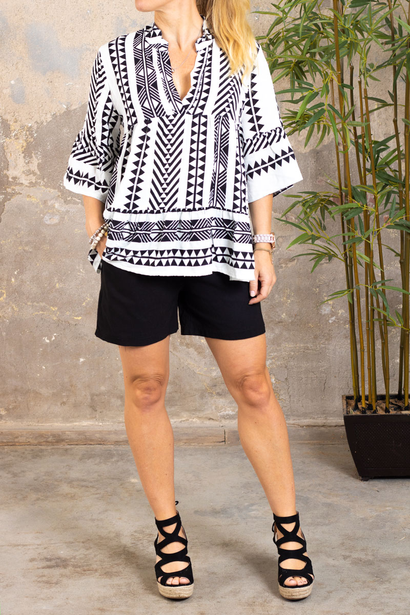 Stretch-Shorts---301---Svart---fram