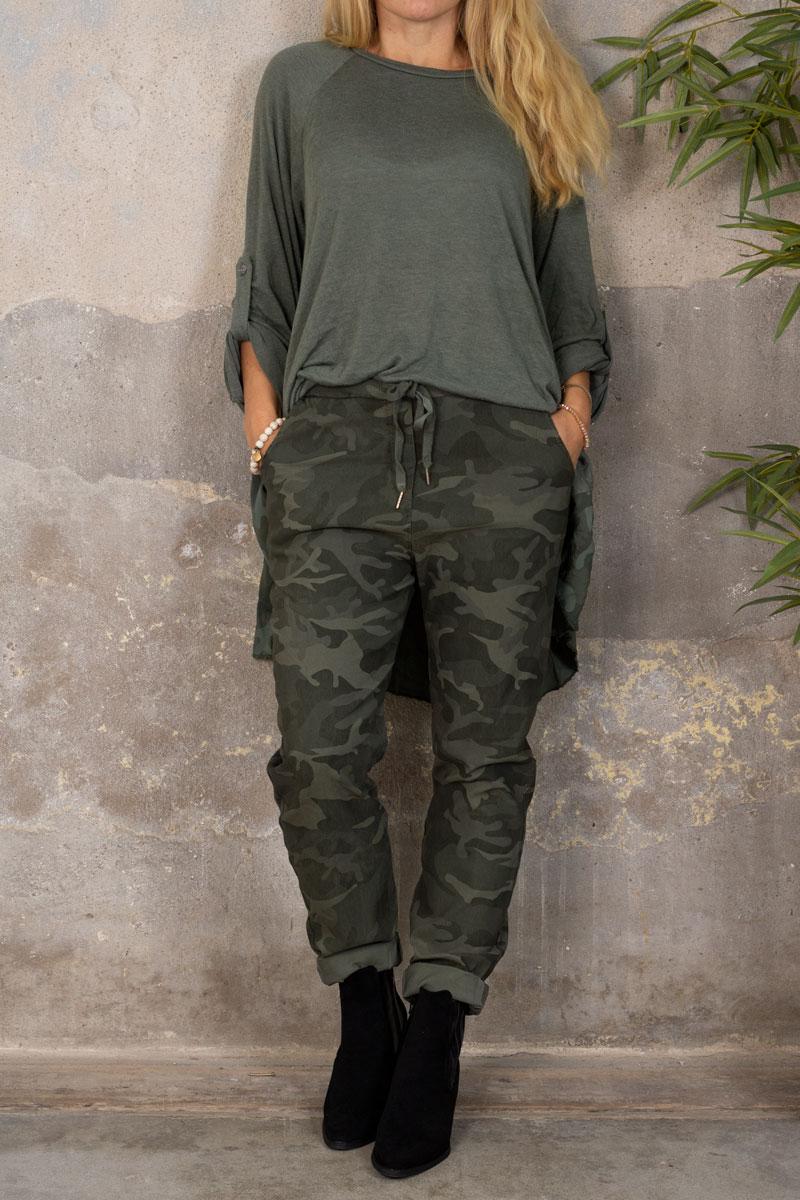 Stretchiga-byxor-2255---Camouflagemonster---khak-hel-2