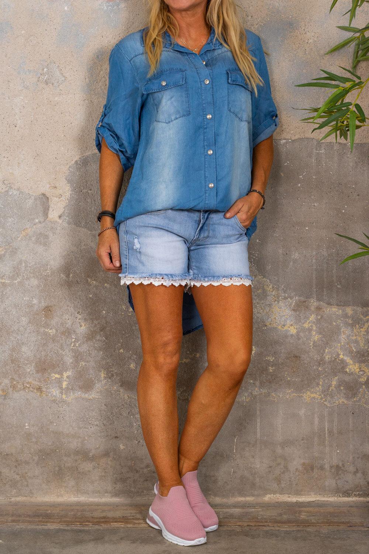 Wendy Jeansskjorta - Denim