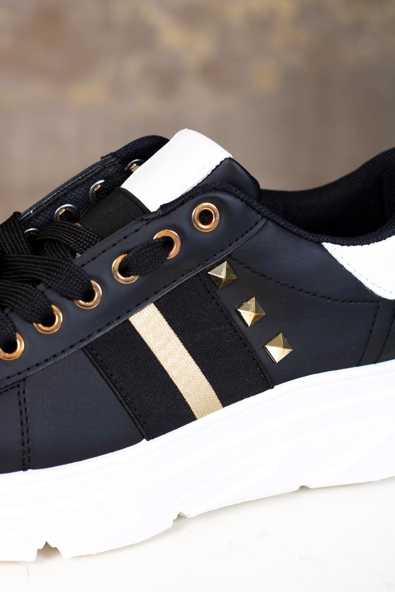 sneakers-CB198-svart-detalj